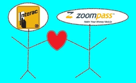 Interac and Zoompass Logos