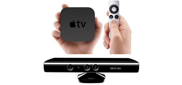 AppleTV and Microsoft Kinect