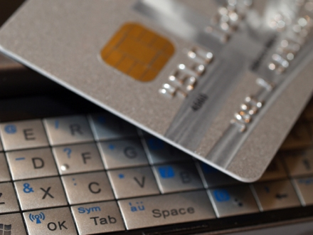 Mobile Phone Keypad and Credit Card