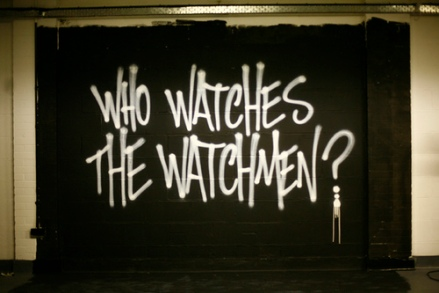 Who Watches The Watchmen Grafetti